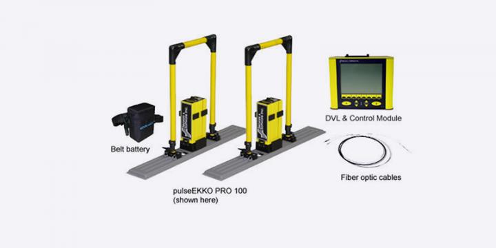 专业级地质雷达 pulseEKKO Pro