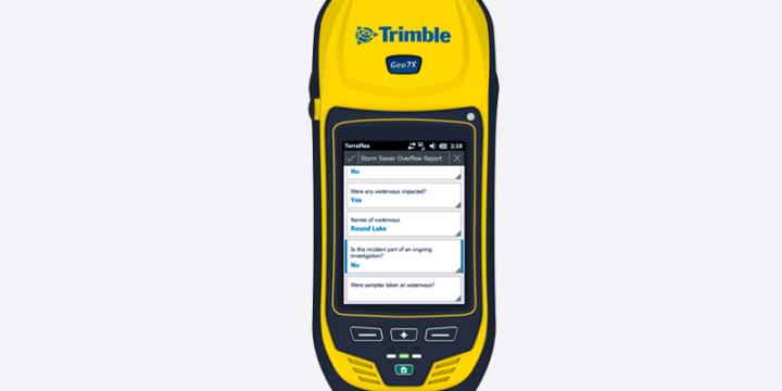 Trimble Geo7X GNSS 接收机