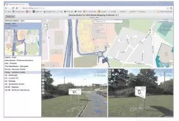基于360°实景影像移动测绘系统的智慧城市设施管理