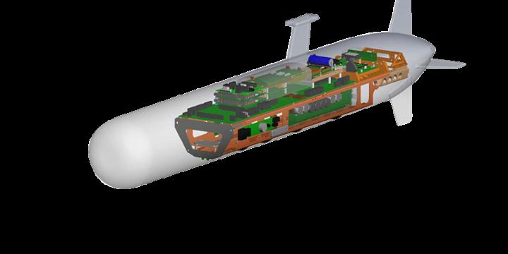 UUV-3500 侧扫/测深声呐系统